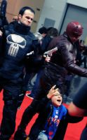 c2e2 2012 : The Punisher and Daredevil by gcdxphoto