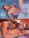 Legend color painted sketches by Gregory-Welter