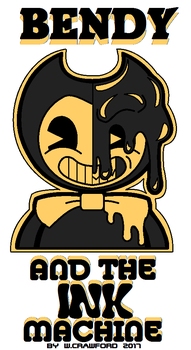 Bendy And The Ink Machine Fan Art MSpaint by frgrgrsfgsgsfgggsfsf