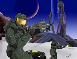 Halo Charity - Composition by TheUmbris