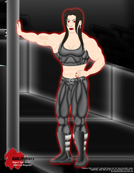 Watch Your Back...Debi's At Ringside (Full Body) by BlackSandrock10
