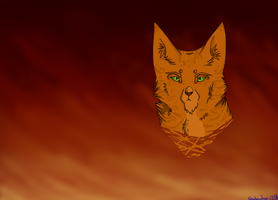 Fire Alone can Save the Clans~ Firestar by shadowily