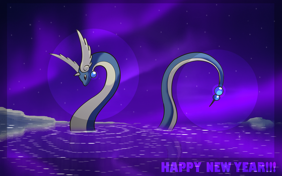 HAPPY NEW YEAR by Thunderwest
