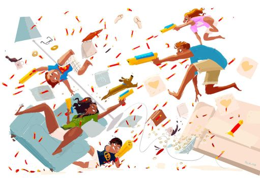 Here we Nerf again by PascalCampion