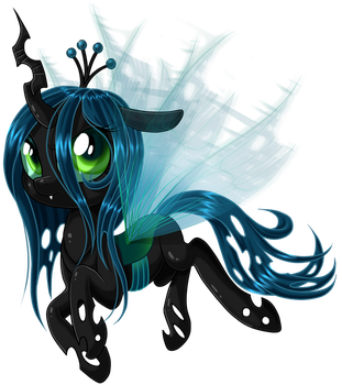 Queen Chrysalis by KittehKatBar