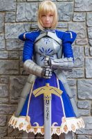 Saber Cosplay: Strong Without Change by ashelikescake