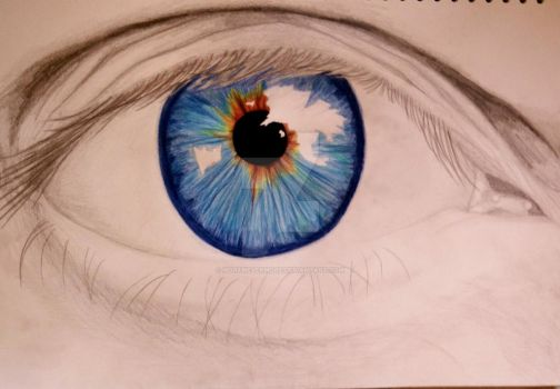 Eye 1 by MortNevermore