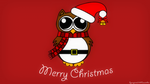 Christmas Owl by spacepirate04
