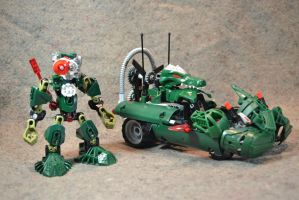 Hero Factory Racers: Toad and the Killer Krok by welcometothedarksyde