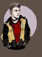 Punk Chekov by teaofrage
