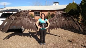 Full sized Maleficent wings by TheGriffinQueen