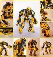 Bionicle MOC: Discharge by Rahiden