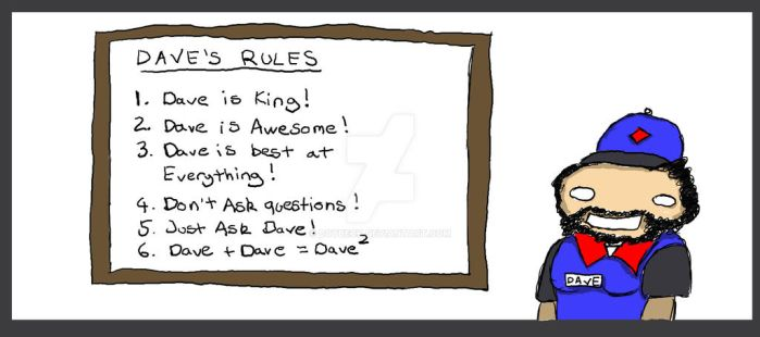 Daves Rules by boybeck