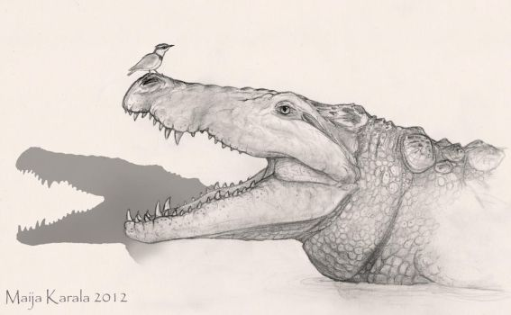 The Pleistocene Killer Crocodile by Eurwentala