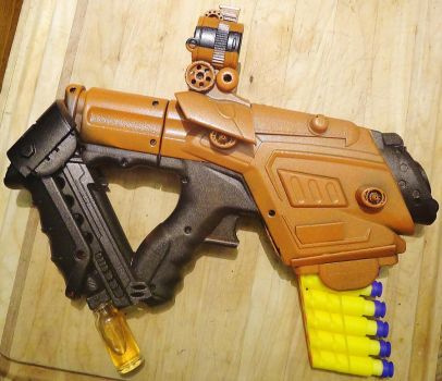 Borderlands-Inspired Pistol w/ Basic Paint Scheme by KingMakerCustoms