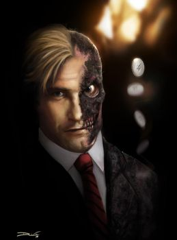Two Face - by DanLuVisiArt