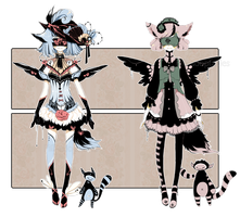 [CLOSED] ADOPT AUCTION 55 - Blind Lace by Piffi-sisters
