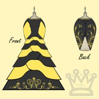 Hufflepuff Deluxe Dress by AMR-Designs