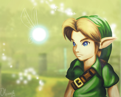 Young Link by Olipanth