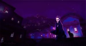 Rooftops by AmberSeree