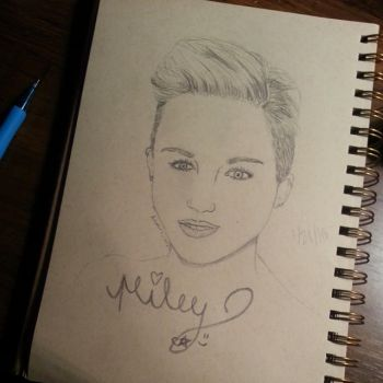 Miley Cyrus by SerendipityDucky
