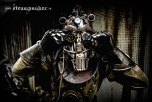 Steampunk Timetraveler by steamworker