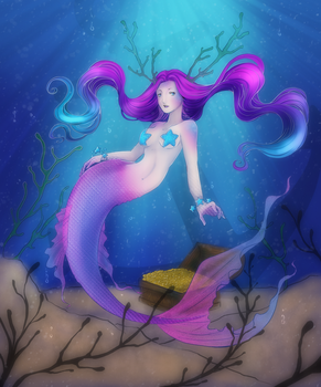 Mermaid Contest Entry 2017 by Kirajoleen