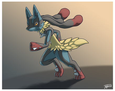 Day 31: All-time Favorite - Mega Lucario by Fehlung