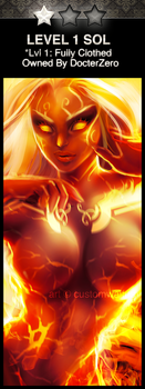 SMITE: Level 1 Sol (REQUEST RAFFLE) by customwaifus