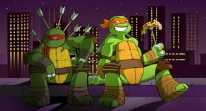 Turtle Temper by chicajamonXD