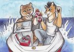 Boating and Beer! by shiverz