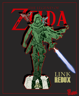 The Legend of Zelda fanart - Link REDUX by DavyWagnarok
