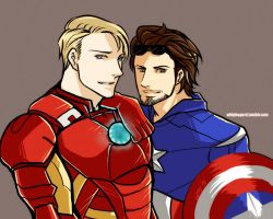 ++ Mr. Rogers and Captain Stark ++ by whippy