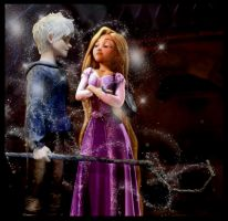 Jack and Rapunzel's first fight by Robono