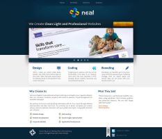 Neal Infotech redesign 2 by prkdeviant