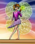 Commission - Fairy Flore - Good Luck Charm by Alise-arts