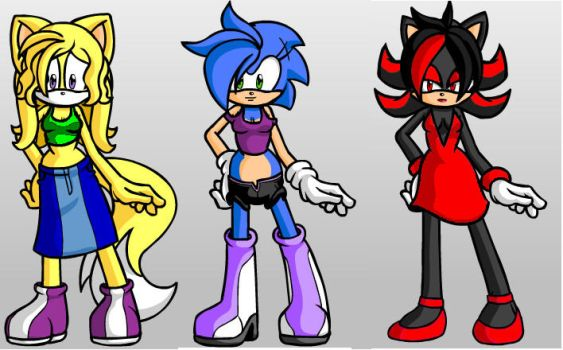 Male Sonic Fan Characters Favourites By Kittyboy13 On: Sonic's Group