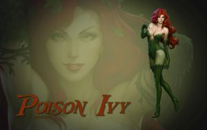 Poison Ivy by Artgerm by Superman8193