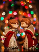 Almost Kissing Angels by JessicaDobbs