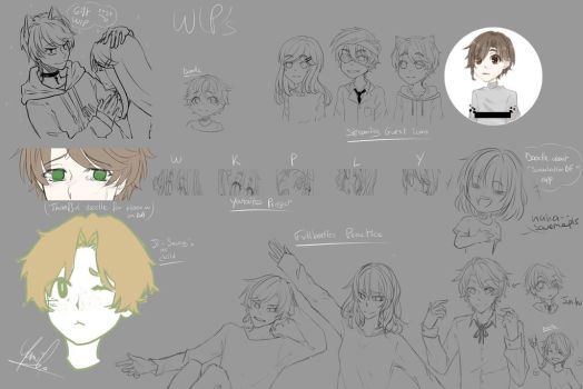 Wip's by Yamikow