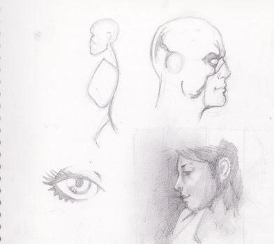 firgure study for a painting by corydunham