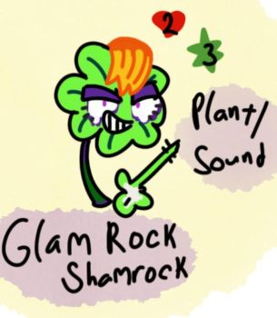 Glam Rock Shamrock by Cactus-Senpai