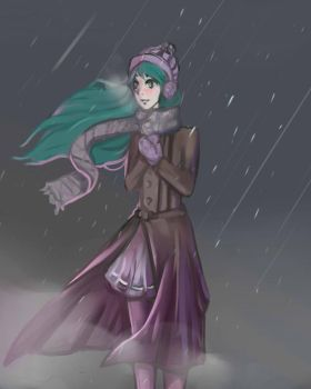 Cold day by DanielleLisette