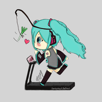 Miku, You're Almost There by Aelinari