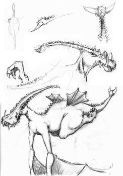 Parasaur sketch 3 by gregjolly