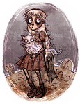Weird Girl_frankenweenie by ElisEiZ