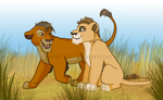 Rainer and Dureau cubs by Twister4eva