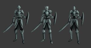 Knight Designs by LivanVellnight