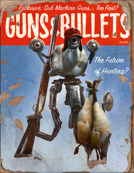 Guns And Bullets #10 Book - Fallout 4 by PlanK-69