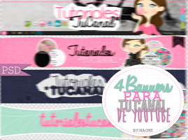 Banners .PSD by Naoomy